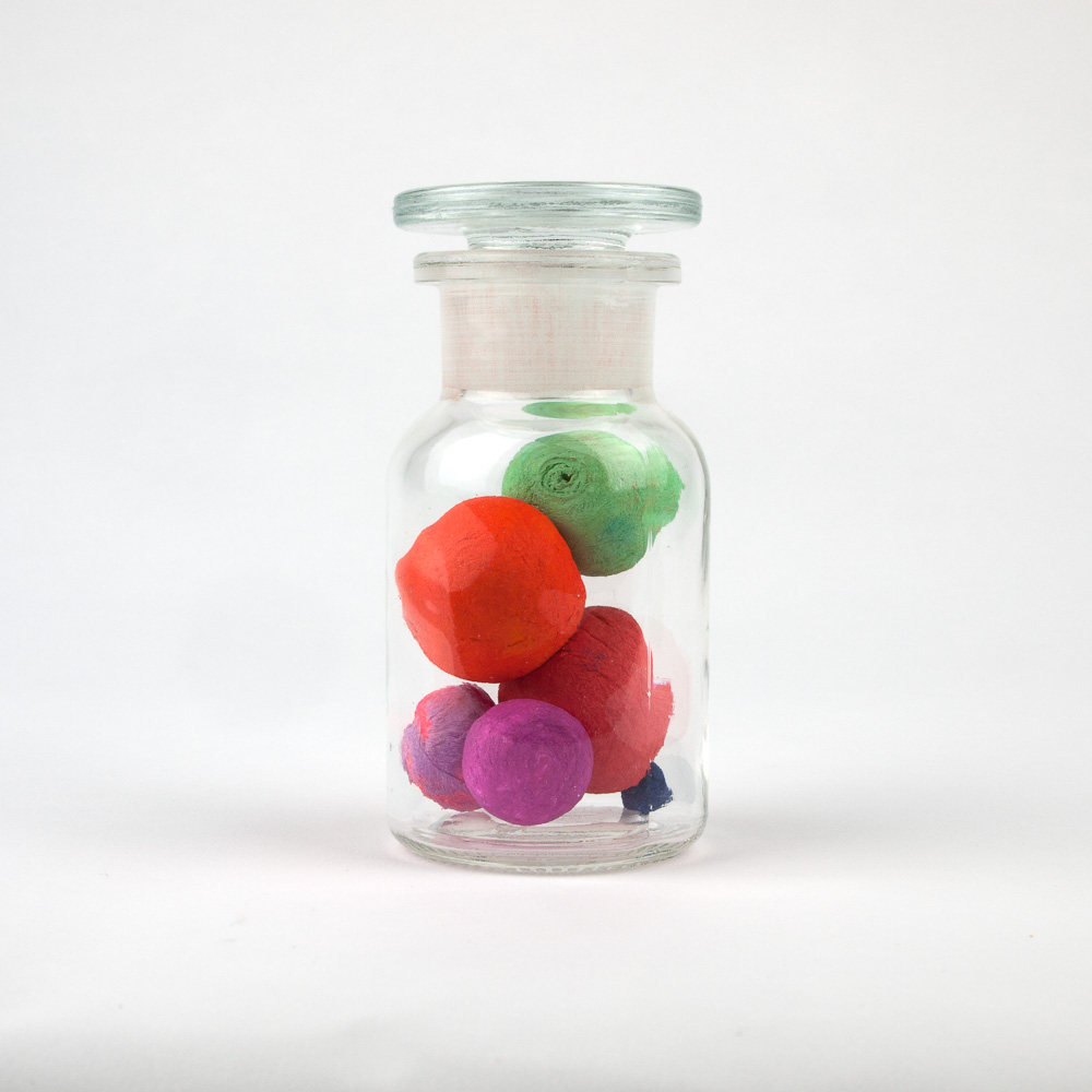Jars of balls and objects